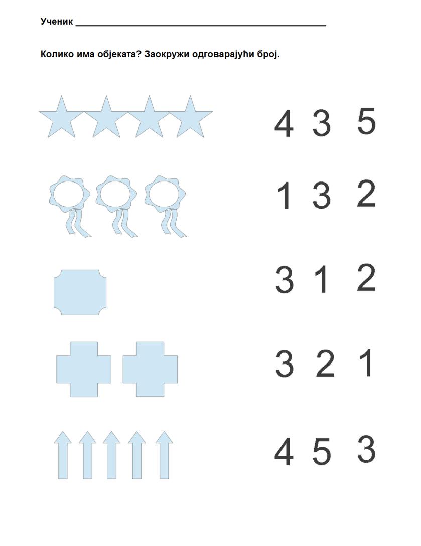 Koliko ima elemenata-1 do 5
